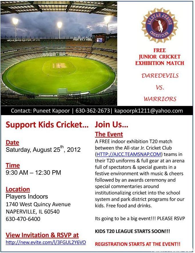 Junior cricket exhibition match daredevils vs warriors asian subject junior cricket exhibition match daredevils vs warriors stopboris Gallery