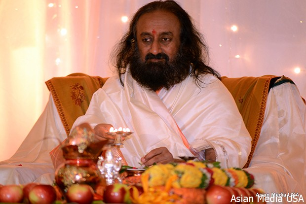 Chicago IL: Sri Sri Ravi Shankar (Guruji), A Global Humanitarian And The  Founder Of The Art Of Living Foundation, Was In Chicago On Oct 23 To 26, ...