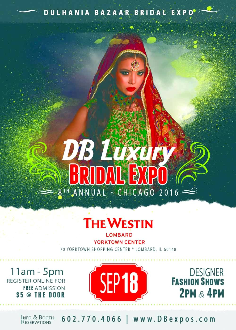 8th Annual DB Luxury Bridal Expo – Chicago 2016!!!