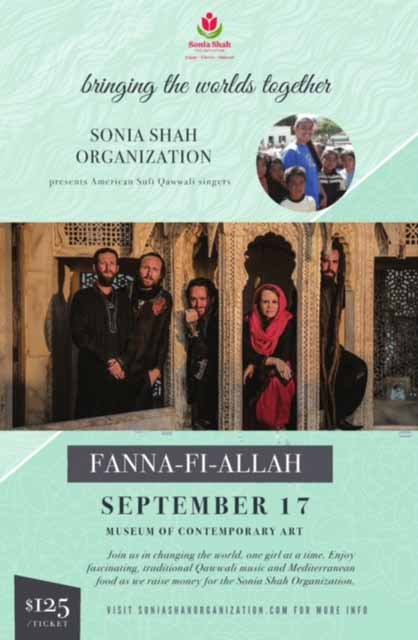 Sonia Shah Organization annual gala