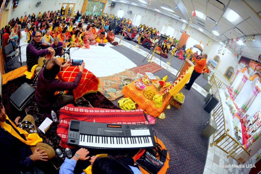 New Year Celebration at Hari Om Mandir - Asian Media USA