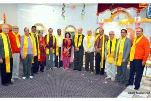 New Year Celebration at Hari Om Mandir - Asian Media USA