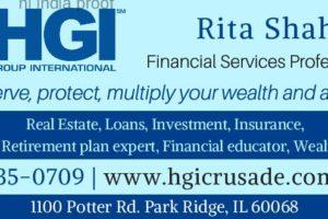 Financial Services Professional Rita Shah - Asian Media USA