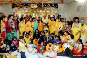 basant panchmi celebrations at hari om mandir - Asian Media USA