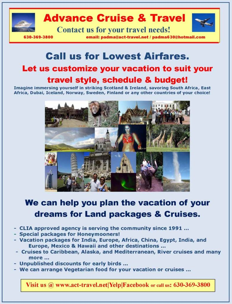 Advance Cruise & travel - Asian Media usA