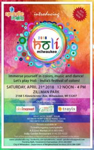 Holi Milwaukee 2018 by Spindle India @ Zillman Park | Milwaukee | Wisconsin | United States