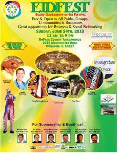 Grand Eid Fest @ DuPage County Fairgrounds | Wheaton | Illinois | United States