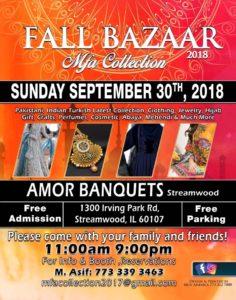 MFA Collection Fall Bazaar 2018 @ Amor Banquets | Streamwood | Illinois | United States