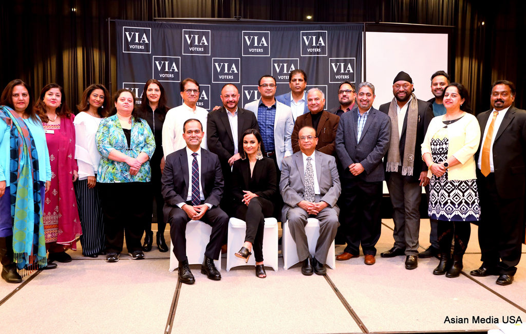 01-13-2019 New Community Civic-Engagement group the Voice of Indian-American Voters Launches